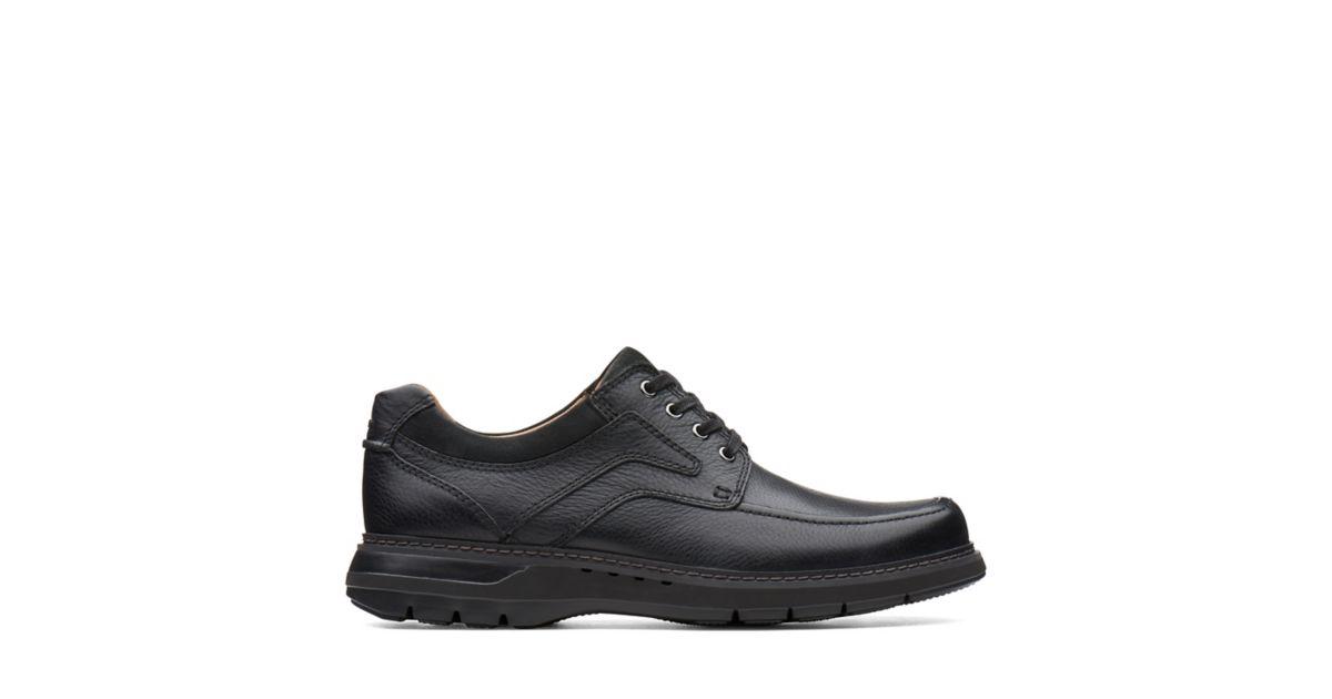 a30bafa487dfc Un Ramble Lace Black Leather - Clarks® Official Site   Clarks