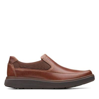 d6419dabbd5 Un Abode Go. Mens Shoes. Dark Tan Leather