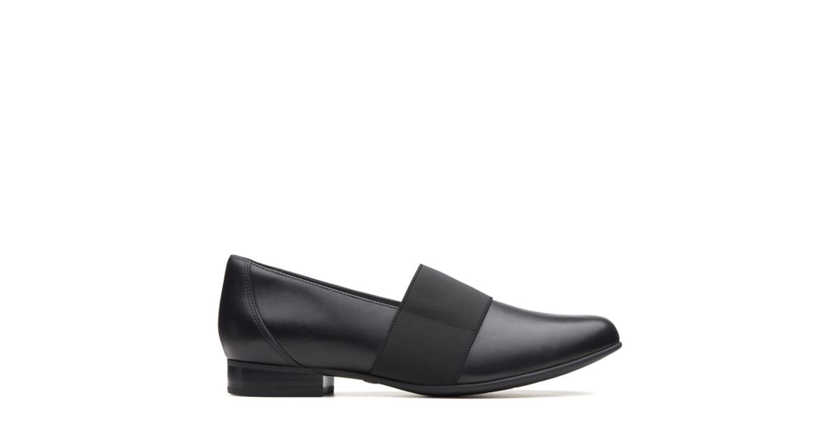 1132f476e1813 Un Blush Lo Black Leather - Clarks® Shoes Official Site | Clarks