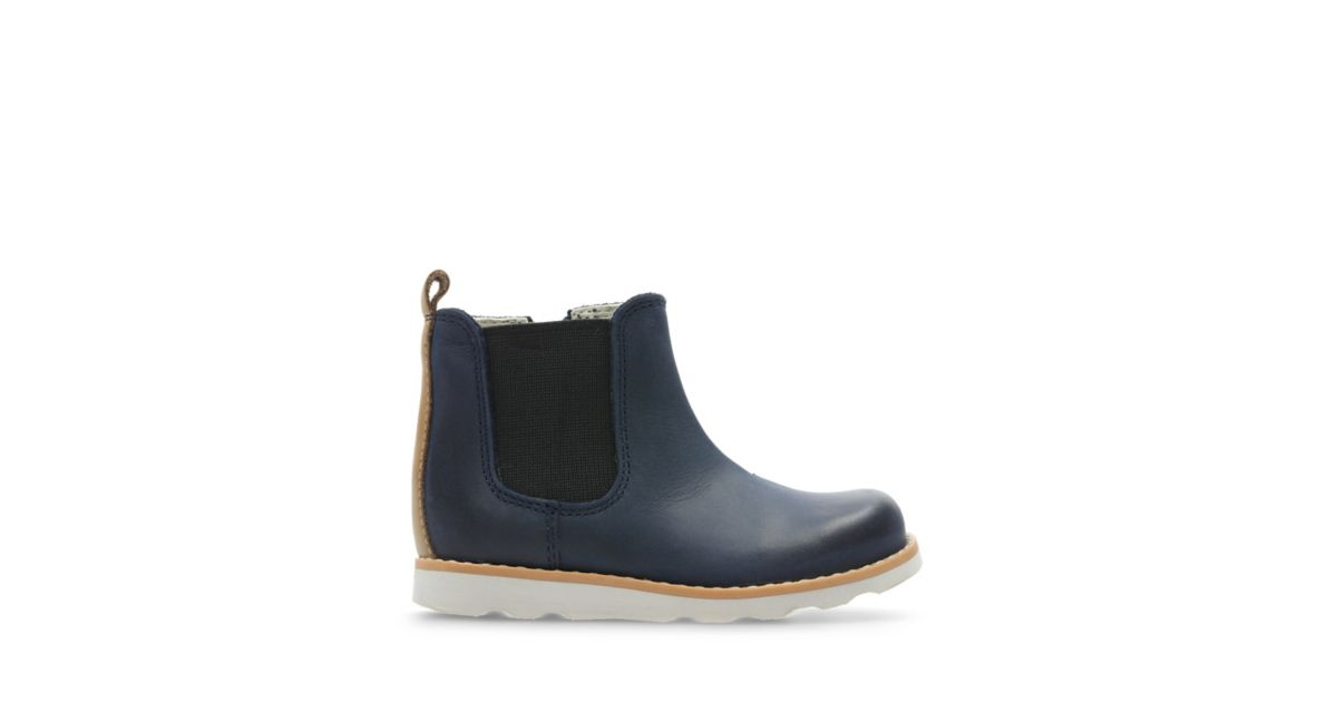 24b6dd33c499e Crown Halo Navy Leather   Clarks