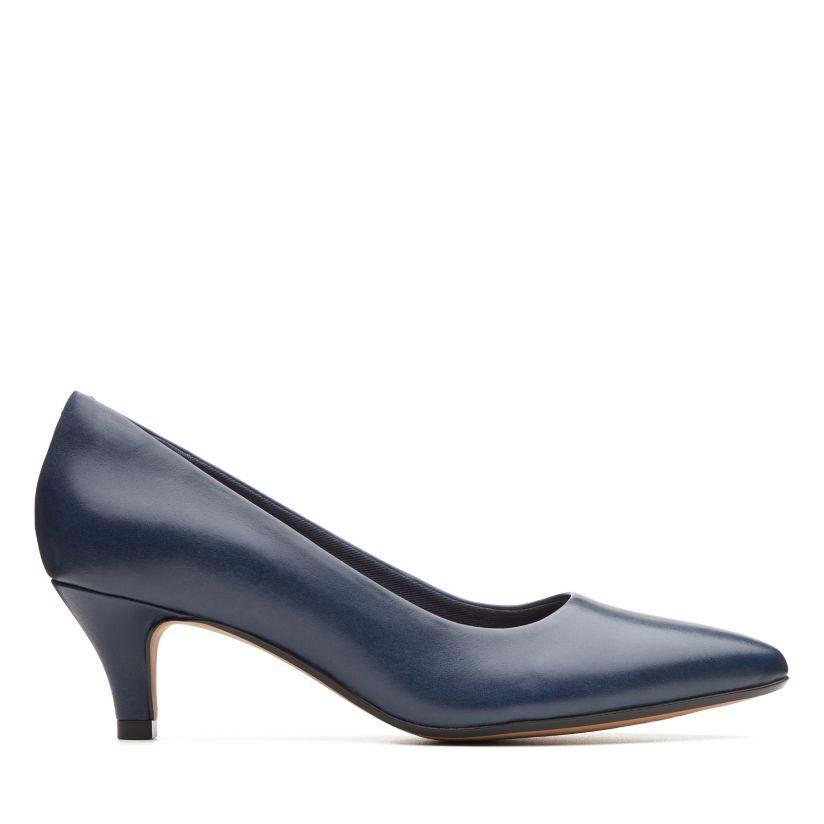 Clarks dames pumps blauw