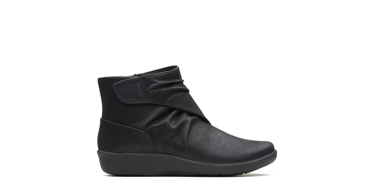 05031e5fe Sillian Tana Black Synthetic - Womens Boots - Clarks® Shoes Official Site