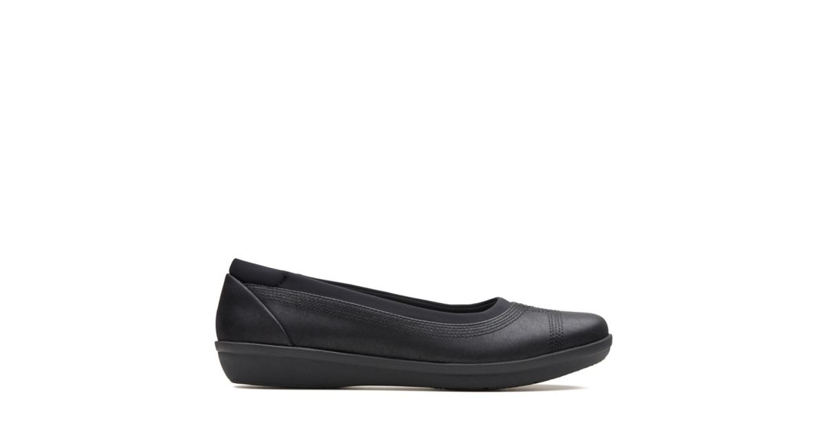8aae2f37b67 Ayla Low Black - Womens Flats - Clarks® Shoes Official Site