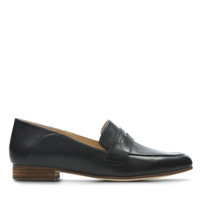 6e5a8ff14a Pure Iris Black Leather - Clarks® Official Site | Clarks