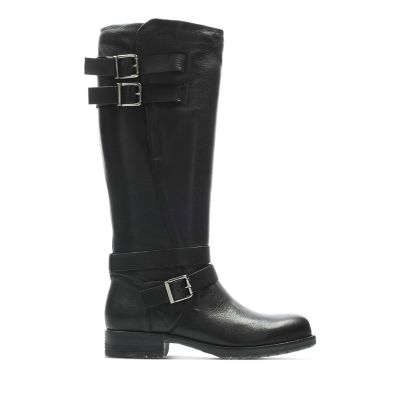 a43aab750b8 Adelia Dusk. Womens Boots. Black Leather