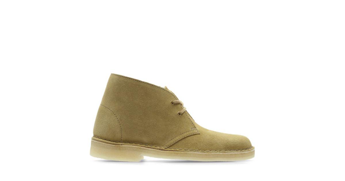 960de6b283b Desert Boot. Oak Suede - Women's Original Boots - Clarks® Shoes ...