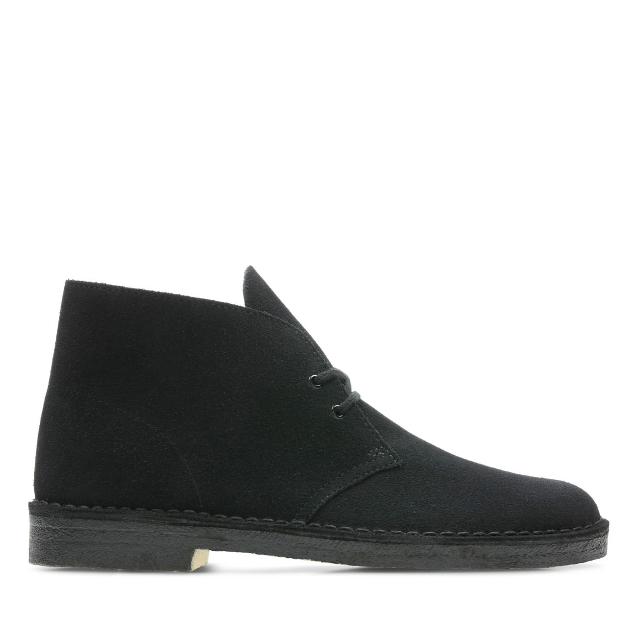 3d18e789f Desert Boot Black Suede   Clarks