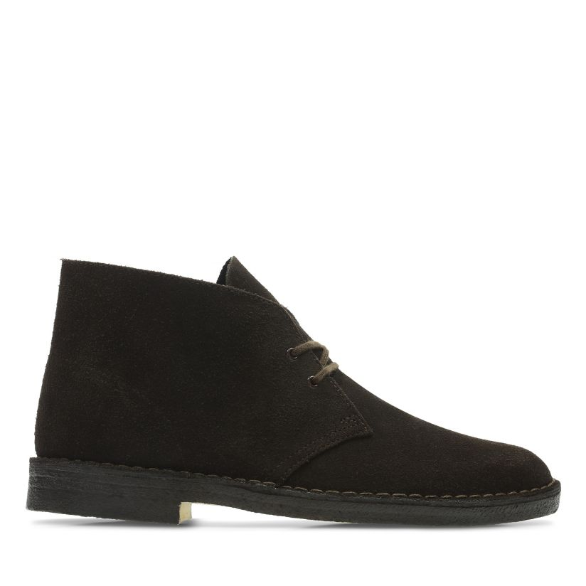 Desert Boot Brown Suede Mens Boots Clarks® Shoes Official