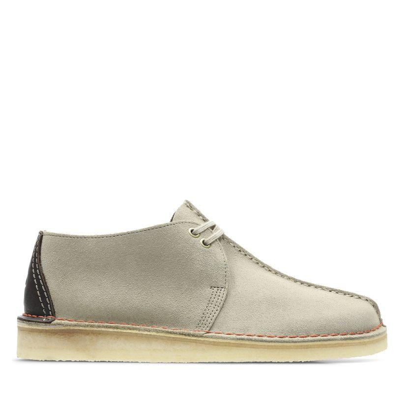 2017 Schuhe Damen Clarks Desert Trek Sand Suede Stiefel