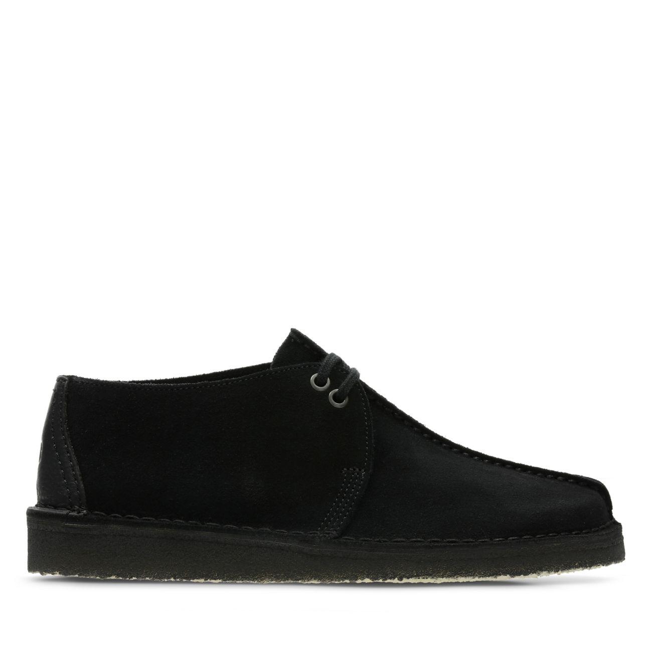 Men Shoes Clarks Originals DESERT Casual lace ups black