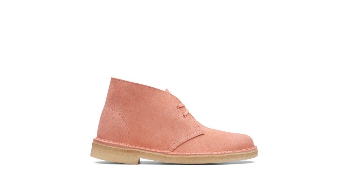 f41fec4f858dba Desert Boot Coral Suede | Clarks