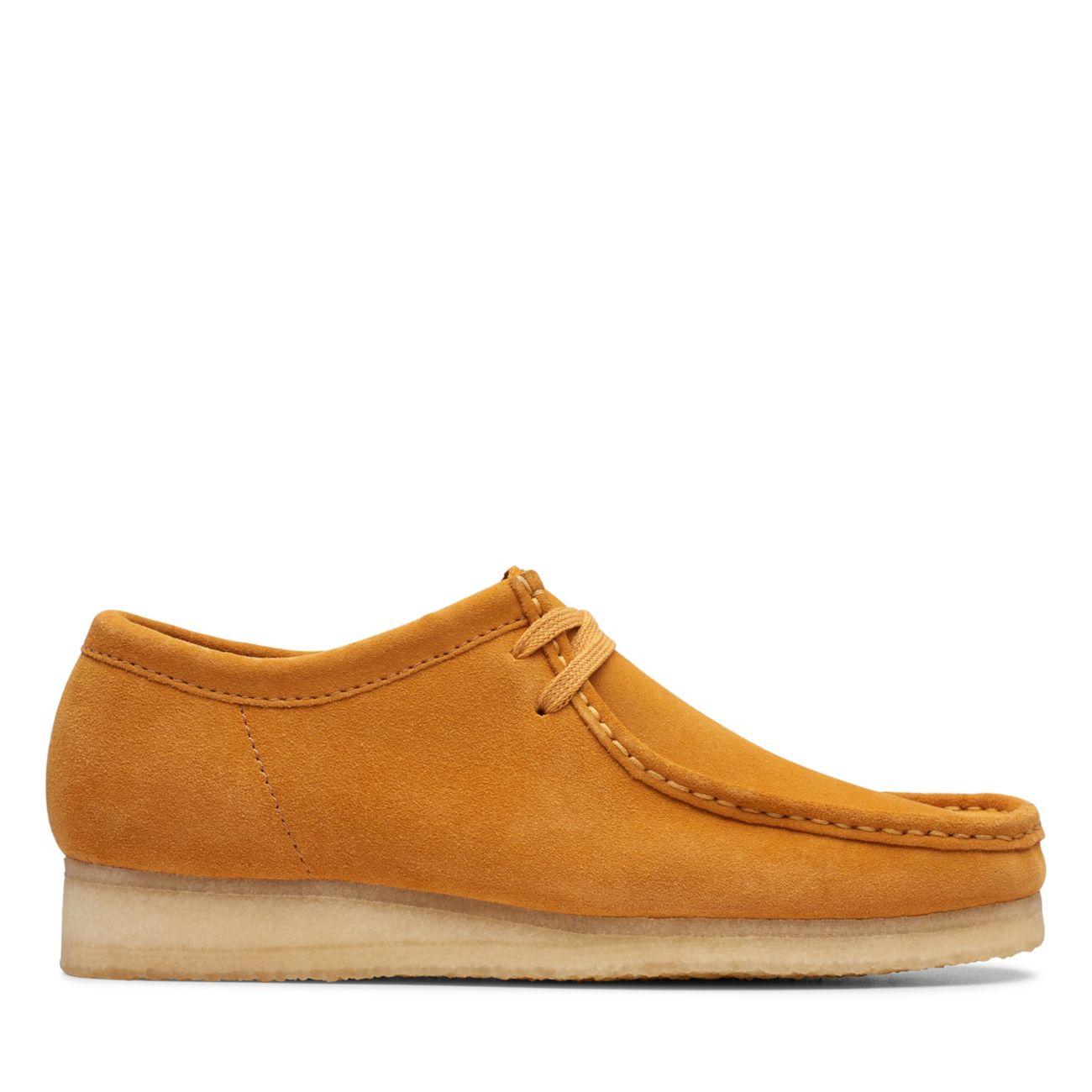fb46d60e6ee11c Wallabee Tumeric Suede - Mens Originals - Clarks® Shoes Official Site |  Clarks