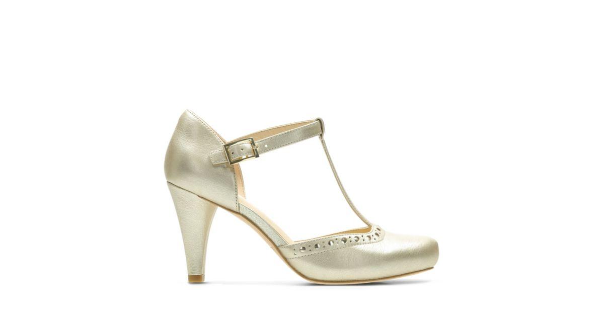 80c9eb7c95d Dalia Leah Champagne Leather