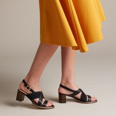 2019 Sales on CLARKS Women's Ellis Tilda Heeled Sandal