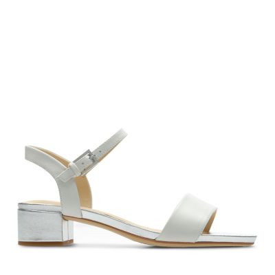d53af9736a67 Orabella Iris. Womens Sandals. White Combi Leather