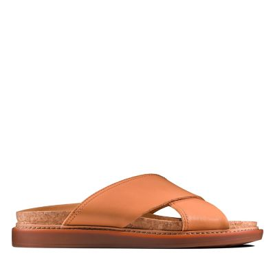 b3baf27b4 Trace Drift. Womens Sandals. Light Tan Leather