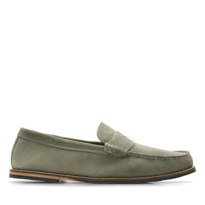 Whitley Free Olive Suede
