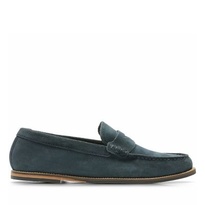 Whitley Free Navy Suede