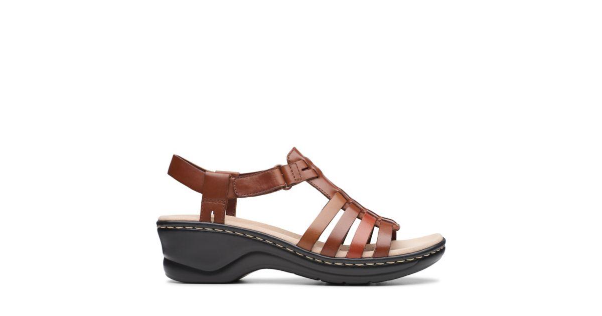 298c621ef4a Lexi Bridge Tan Combi Leather - Womens Sandals - Clarks® Shoes Official  Site