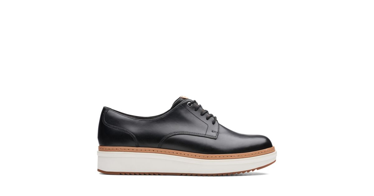 ceb729d6b16 Teadale Rhea Black Smooth-Womens shoes - Clarks® Shoes Official Site    Clarks