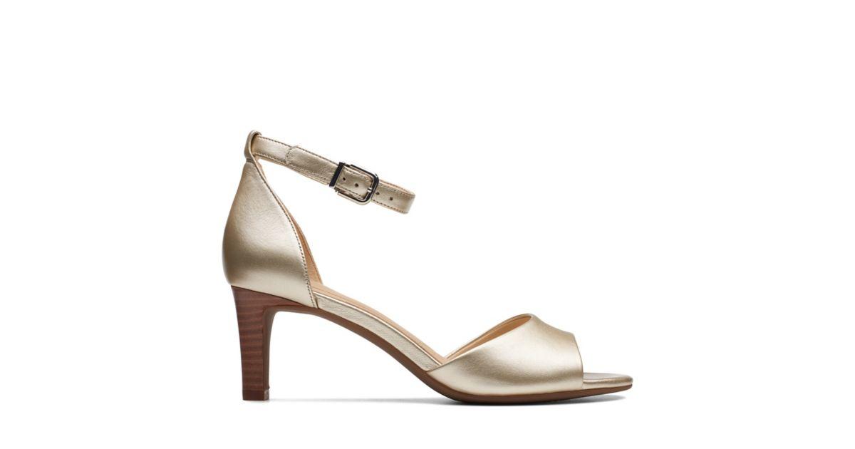 3fbde5e82f20 Laureti Grace Champagne - Womens Heels - Clarks® Shoes Official Site ...