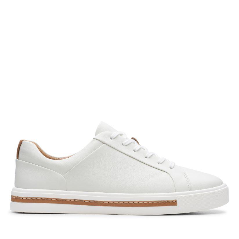 inteligente Persona responsable puente  Un Maui Lace White Leather - Womens Sneakers - Clarks® Shoes Official Site  | Clarks