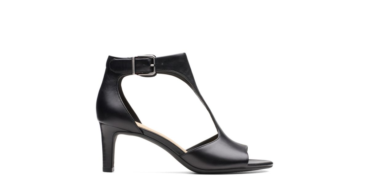 d0853c7b20ed Laureti Star Black Leather - Womens Shoes - Clarks® Shoes Official Site