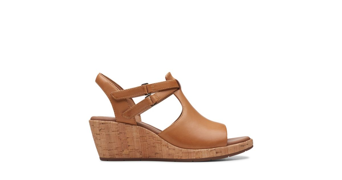 2c1f79c5f1 Un Plaza Way Light Tan Leather - Womens Heels - Clarks® Shoes Official Site  | Clarks