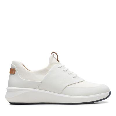 DamesWitte Sneakers Sneakers Clarks DamesWitte DamesWitte Clarks Sneakers 4LARj53