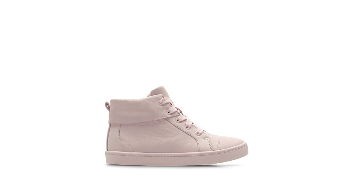City Oasis Hi Kid Light Pink Clarks