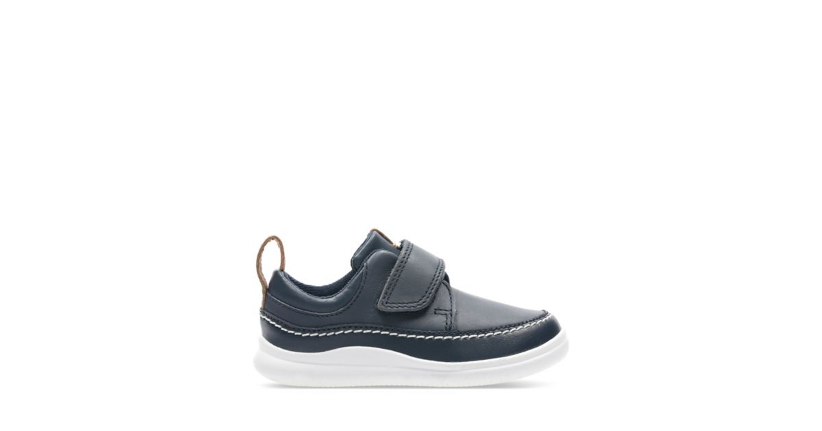 9418542a600f4 Cloud Ember T Navy Leather - Kids Shoes - Clarks® Shoes Official Site |  Clarks