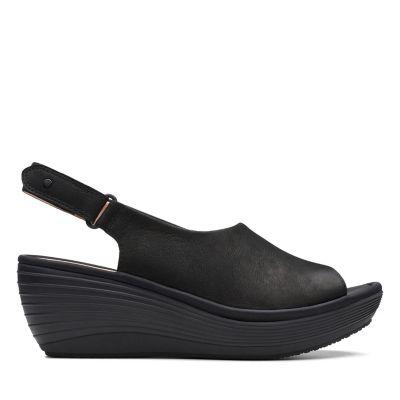 17f4f4dc40 Ladies' Wedges | Black & Beige Wedge Heels, Flats & Boots