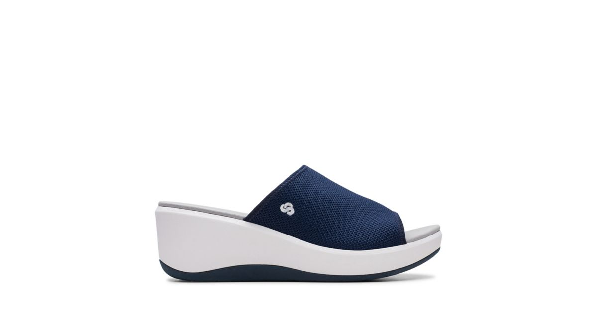 97b0198ebcd8 Step Cali Bay Navy - Womens Sandals - Clarks® Shoes Official Site ...
