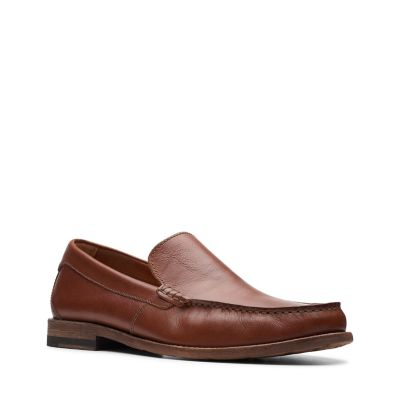 pace barnes dark tan leather mens shoes clarks® shoes officialclick to zoom image