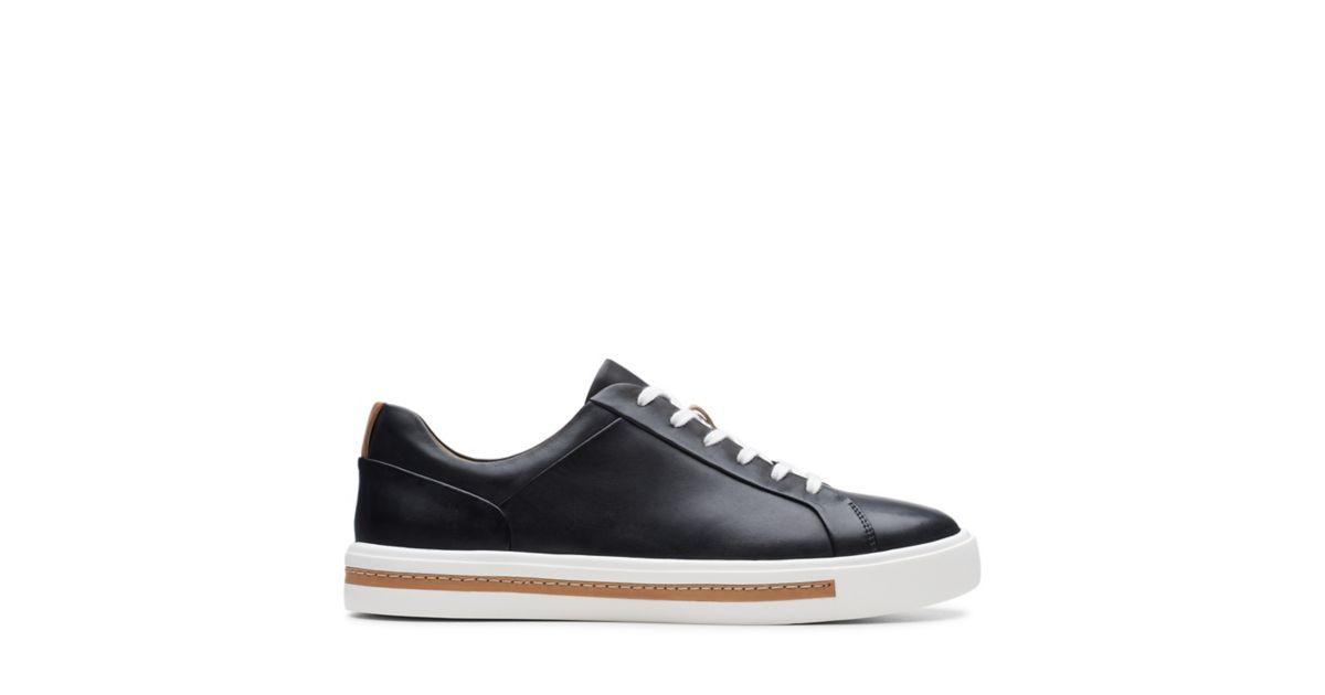 dabd24b6fc Un Maui Lace Black Leather - Womens Sneakers - Clarks® Shoes Official Site  | Clarks