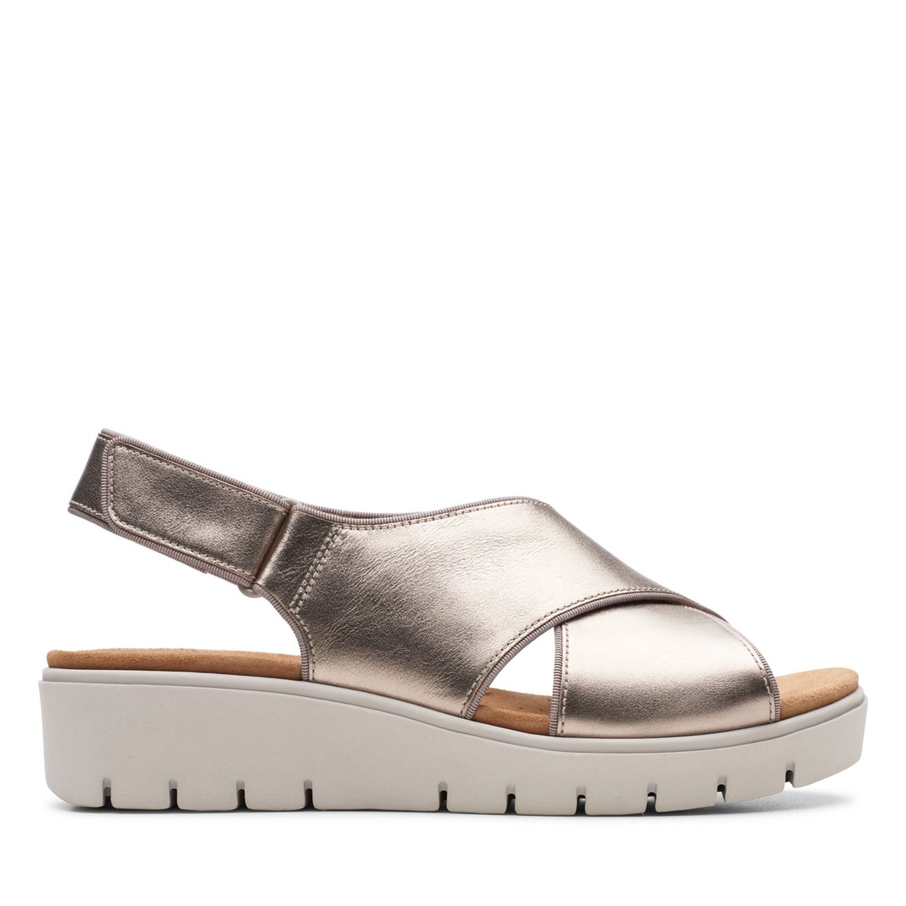 Unstructured Un.Karely Sun Wedge Sandal