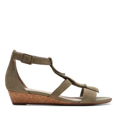 cfbdd66b Wedge Sandals | Black & Brown Wedge Sandals | Clarks