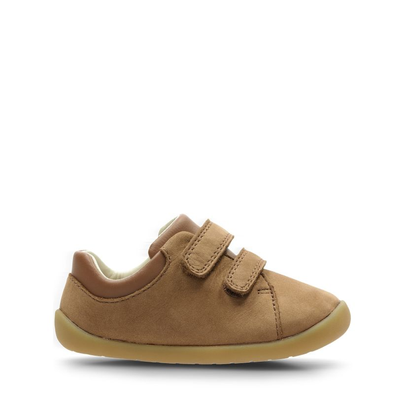 54b08595c0410 Roamer Craft T Tan Leather - Kids Shoes - Clarks® Shoes Official ...