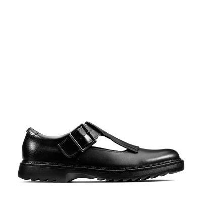 Girls' School Shoes | Girls' Black & Leather School Shoes