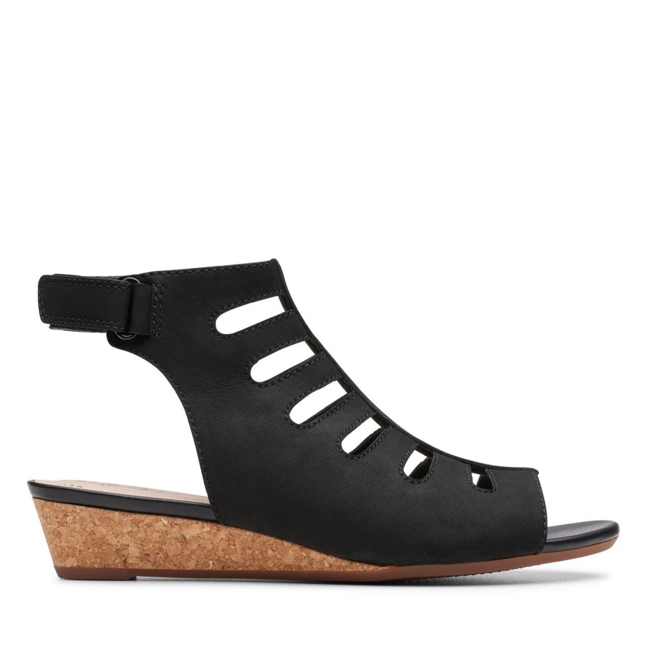 Abigail Sing Black Nubuck - Clarks® Shoes Official Site | Clarks