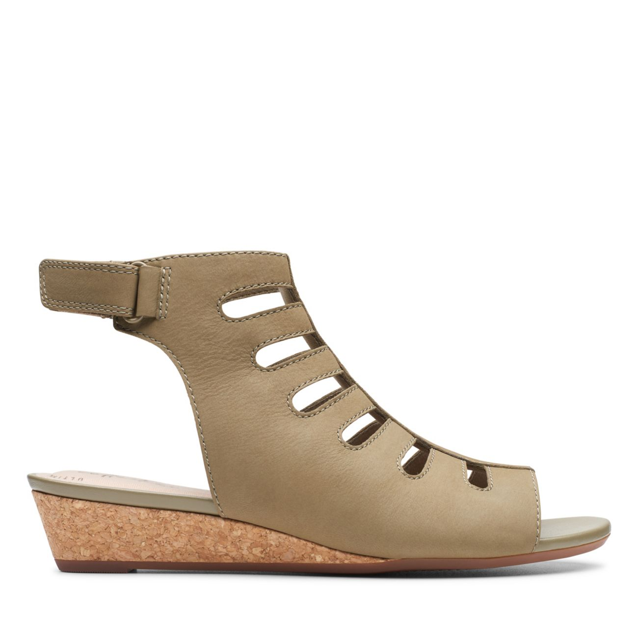 Abigail Sing Olive Nubuck - Clarks® Shoes Official Site   Clarks