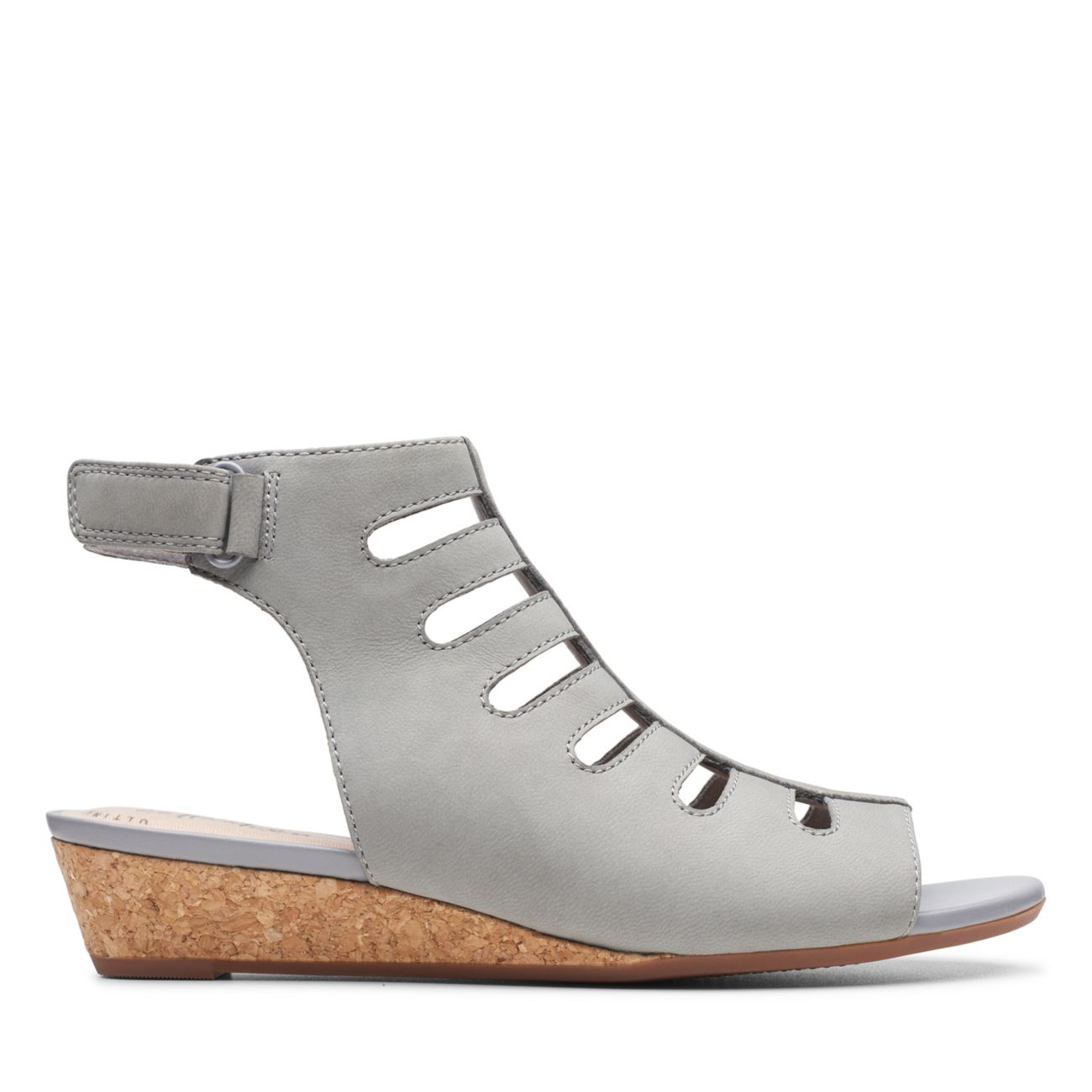 Abigail Sing Grey Nubuck - Clarks® Shoes Official Site | Clarks