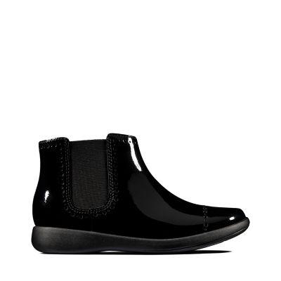 63f9d8186f176 Girls' School Shoes | Girls' Black Leather School Shoes | Clarks