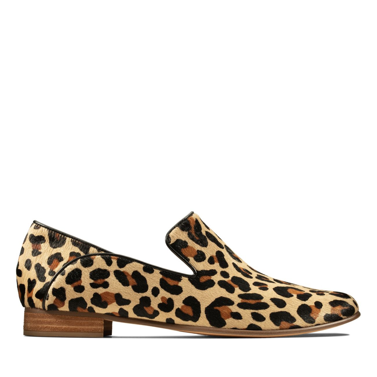 bottes en bois pour femmes léopard