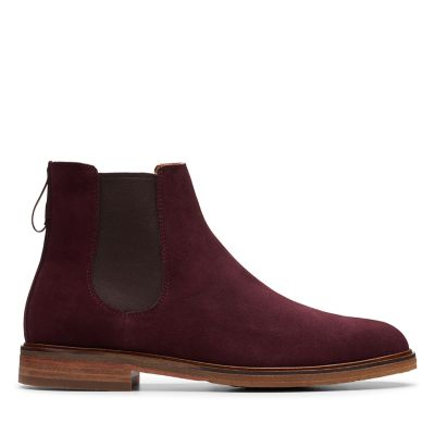 Clarks Herren Trace Quest Biker Boots: : Schuhe