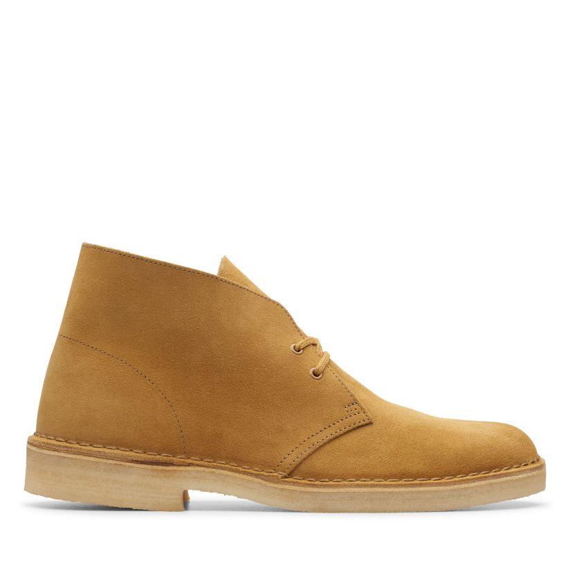 New Mens Clarks Originals  Desert Boots Black Suede  Suede