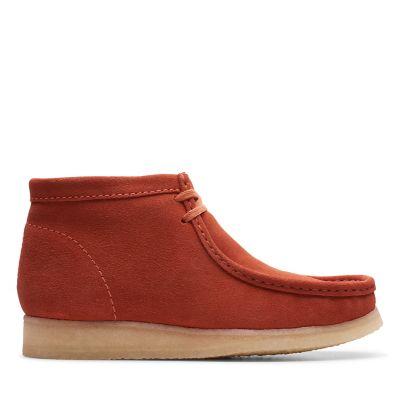 promo code 1f7d6 e9eef Wallabee Boot. Mens Originals Boots. burnt orange suede