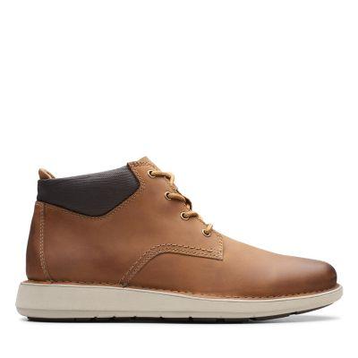 Clarks Shoes Outlet Lane Stride2 Brown Nubuck Mens Footwear