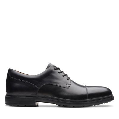 Noir 36 EU Derbys gar/çon Black Leather Black Leather Clarks Asher Jazz Y