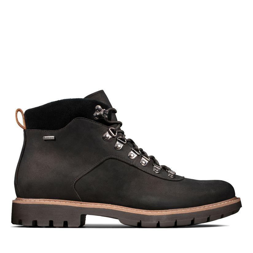 carpintero Pies suaves niña  BatcombeAlpGTX Black Nubuck - Mens Casual - Clarks® Shoes Official Site |  Clarks